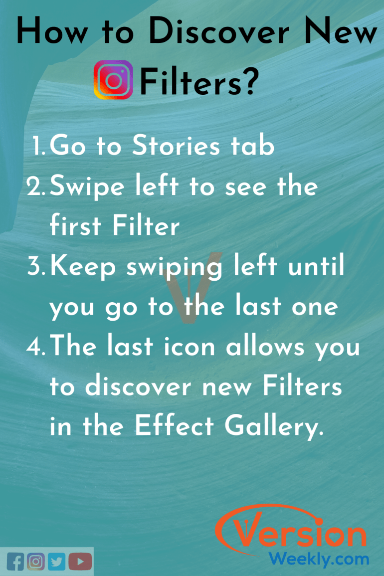 How to find new IG filters for stories