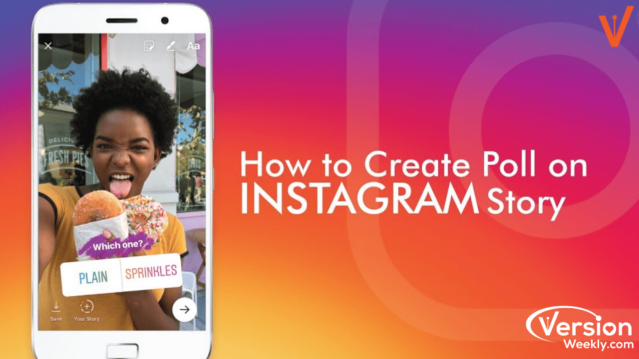 How to set up a polls to your instagram stories