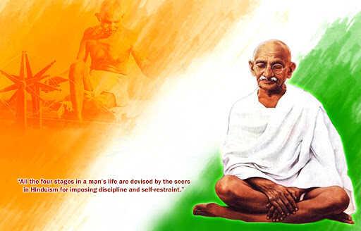 Happy mahatma gandhi birth anniversary 2020 wallpaper hd