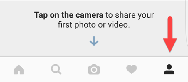 Use profile icon to stop IG spam comments