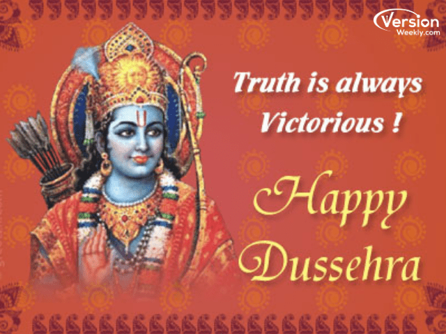 WhatsApp status images for dussehra