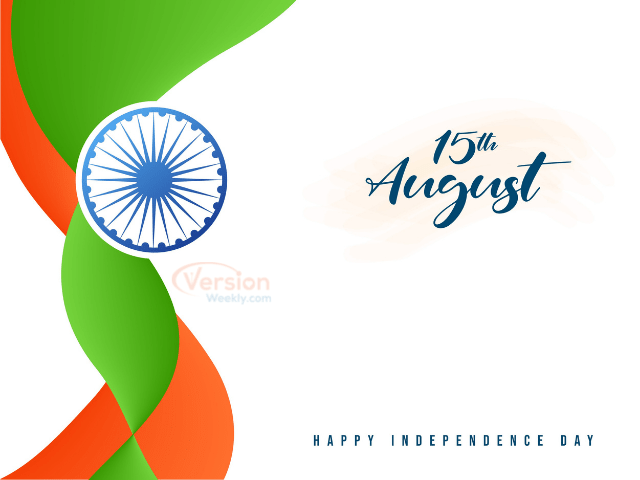 15th august independence day 2021 WA Stickers