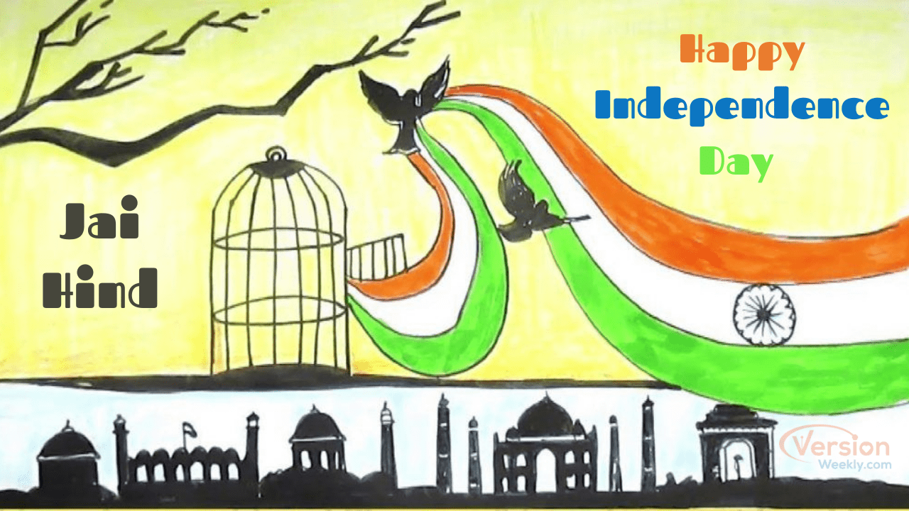 August 15th Happy Independence Day Speech, Essay, Drawing, Craft Ideas, Rangoli Designs, Patriotic Song Videos