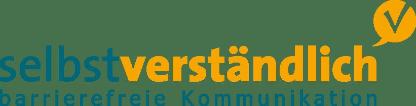 Logo der Agentur selbstverständlich für barrierefreie Kommunikation