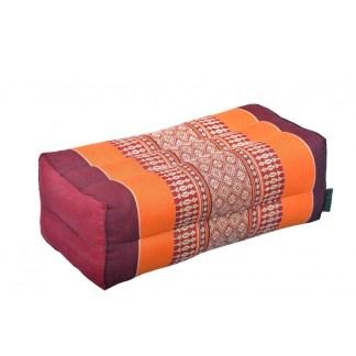Coussin de yoga Anadeo burgundy-orange