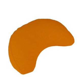 Coussin de méditation de voyage Demi-lune Yoga-Mad orange