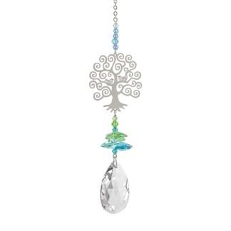 Fantaisie de cristal arbre de la vie Woodstock Chimes