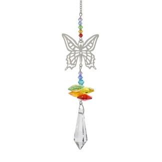 Fantaisie de cristal fée papillon Woodstock Chimes
