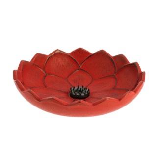 Brûle-parfums Fleur de lotus rouge Iwachu
