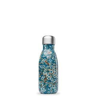 Bouteille Flowers Bleu Qwetch 260ml