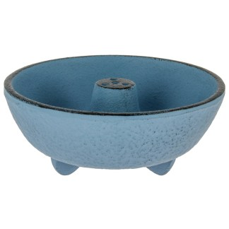 Brûle-parfums Fontaine bleu clair Iwachu