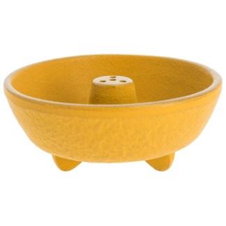 Brûle-parfums Fontaine jaune