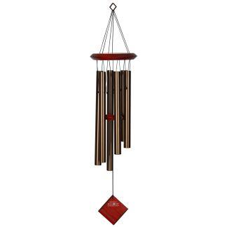 Carillon à vent Pluton bronze bubinga Woodstock Chimes