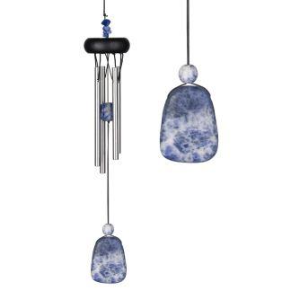 Carillon à vent Precious stones Lapis-lazuli Woodstock Chimes