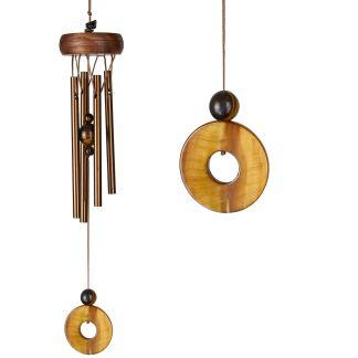 Carillon à vent Precious stones Œil de Tigre Woodstock Chimes
