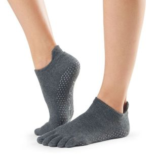 Chaussettes antidérapantes Lowrise Full Toe charcoal grey