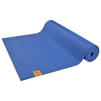 Tapis de yoga Non-Toxique Chin Mudra bleu