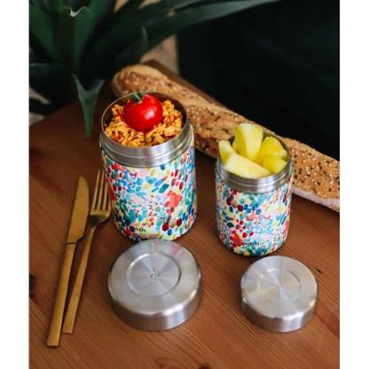 Boîte repas et soupe isotherme Arty Qwetch décor
