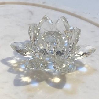 Cristal Fleur de lotus 10cm