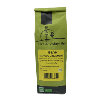 Tisane Mangue-gingembre bio Terre & Volup'thé