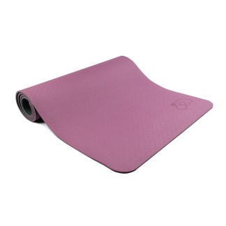 Tapis de Yoga Evolution Yoga Mat 6mm Yoga-Mad aubergine