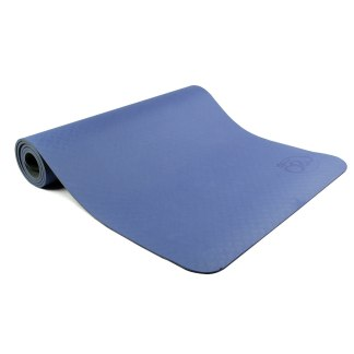 Tapis de Yoga Evolution Yoga Mat 6mm Yoga-Mad bleu