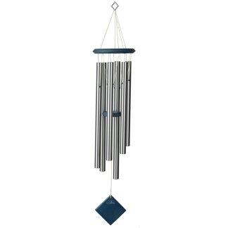Carillon à vent Terre argenté bleu Woodstock Chimes