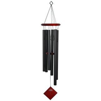 Carillon à vent Terre noir bubinga Woodstock Chimes