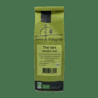Thé vert Ginger thaï bio Terre & Volup'thé