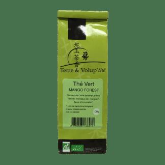Thé vert Mango Forest bio Terre & Volup'thé