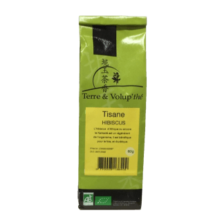 Tisane Hibiscus bio Terre & Volup'thé