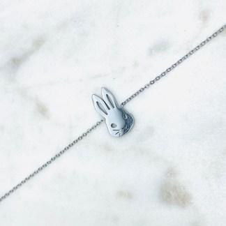 Bracelet Lapin argenté 7bis