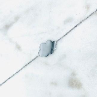 Bracelet Nuage argenté 7bis