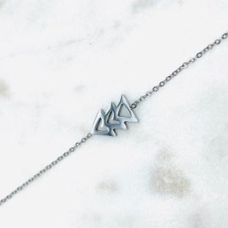 Bracelet Sapin argenté 7bis