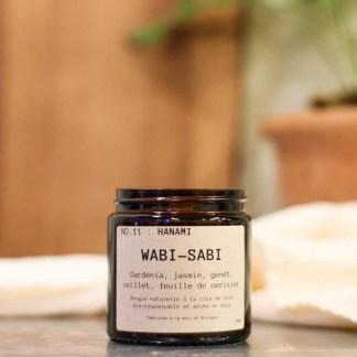 Bougie parfumée N°11 Hanami 90g/25h Wabi-Sabi