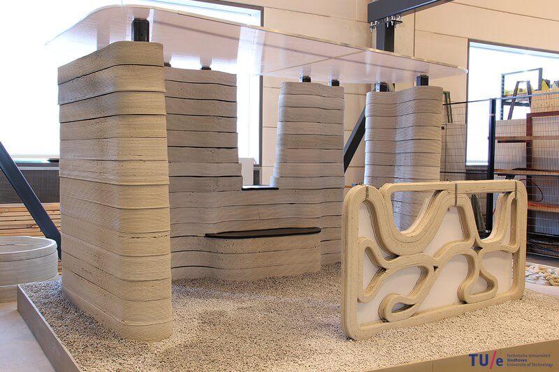 3D принтер по печати бетоном