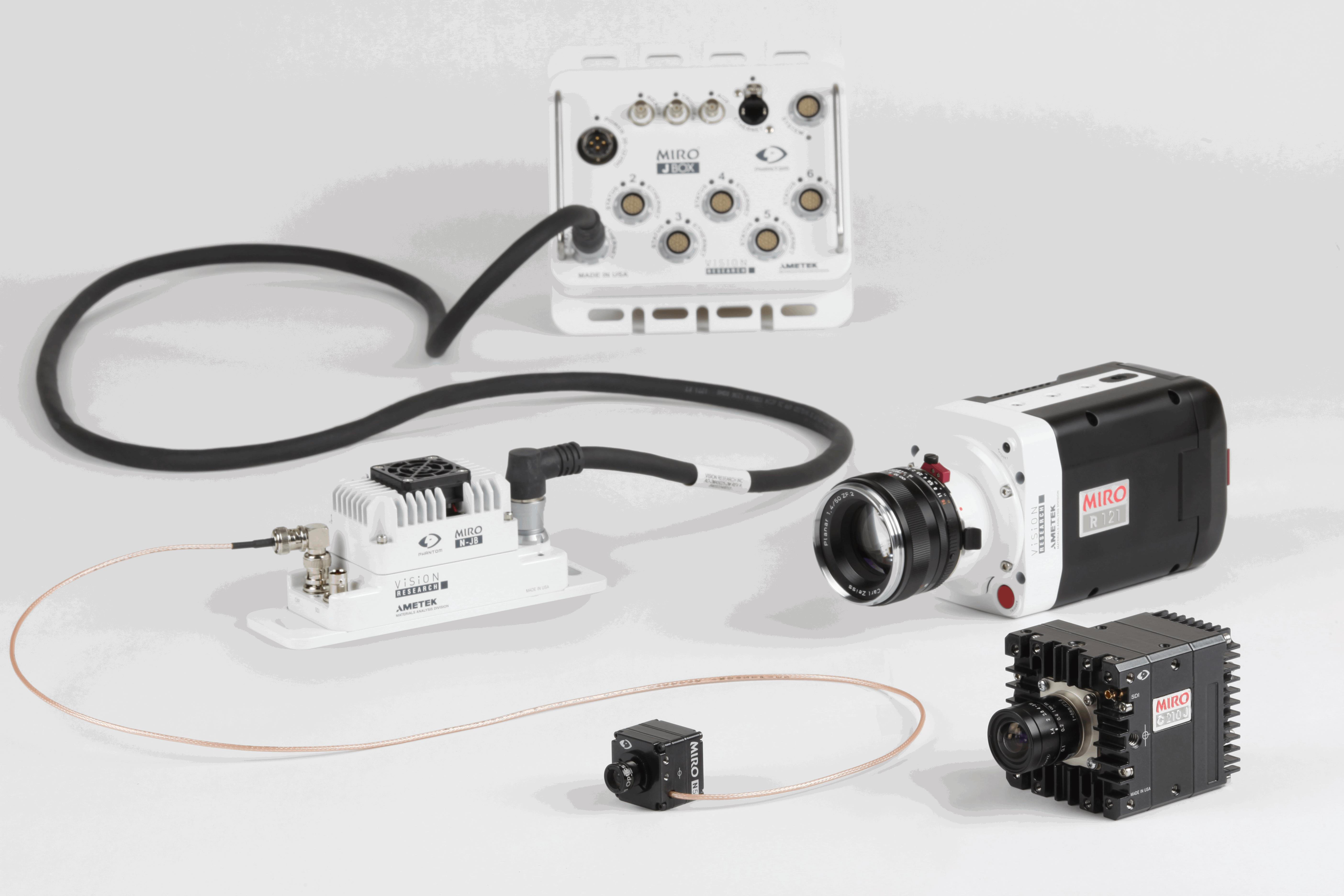 vision research debuts phantom miro n series at automotive testing expo usa