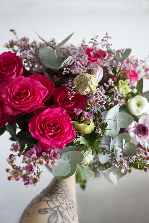 box bouquet fleurs monsieur marguerite