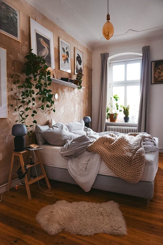 inspiration chambre plante