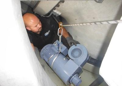Algarve | Substituição de motores em rotor de turbina eólica