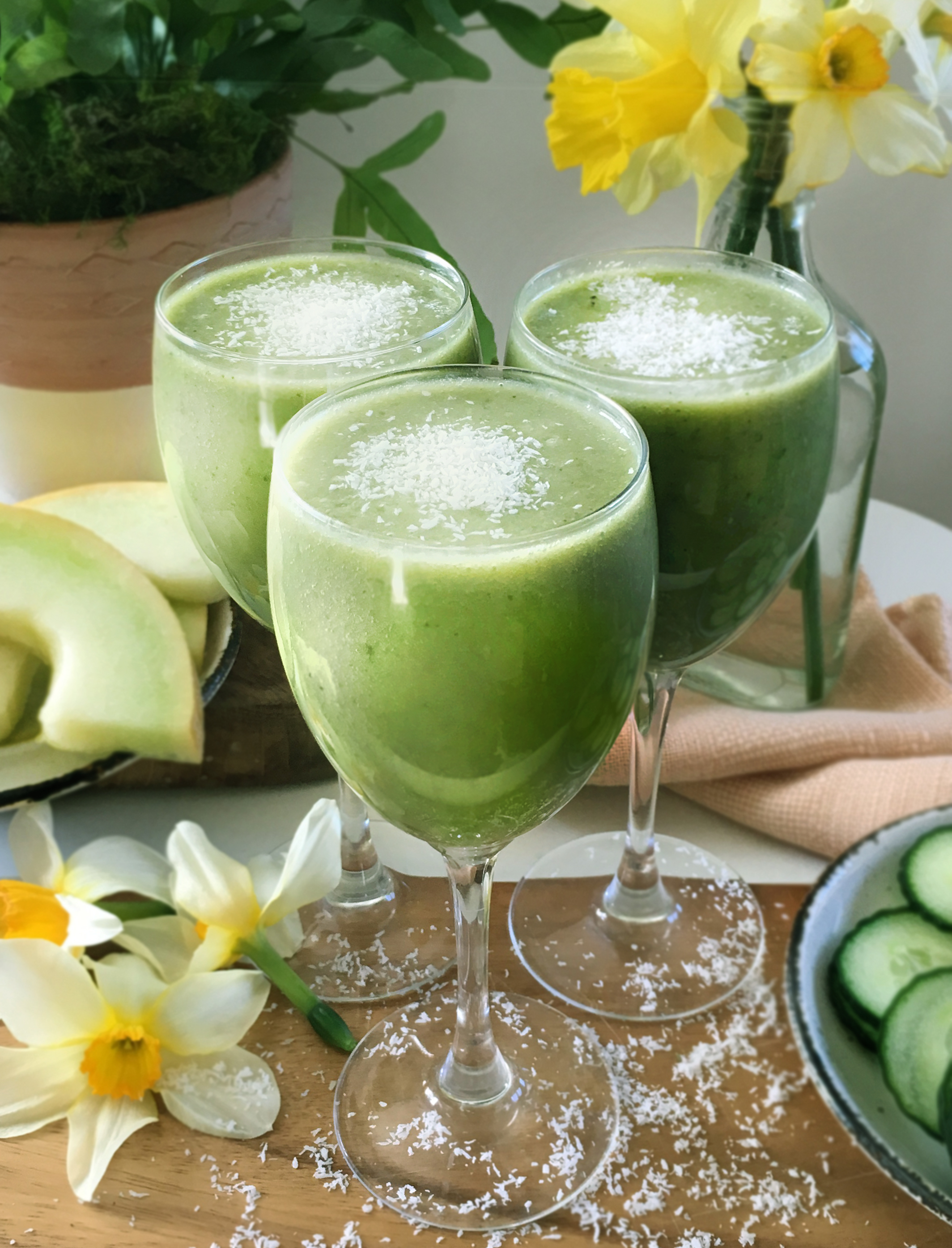 Green Refreshing Smoothie