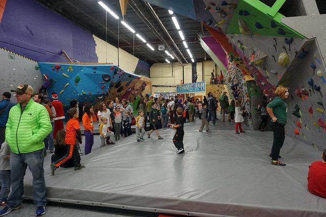 VATC Families Climbing