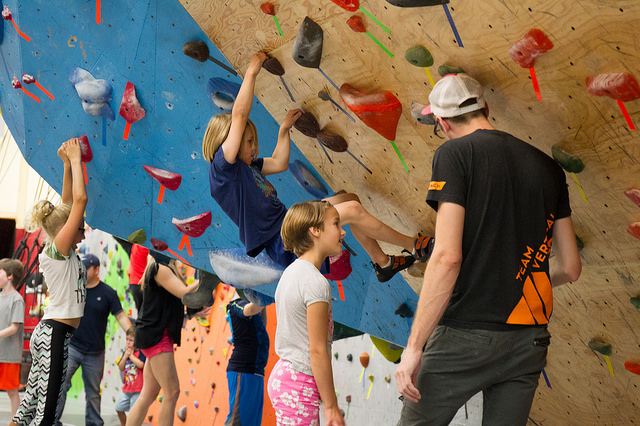 VATC Coach Fish Kids Bouldering