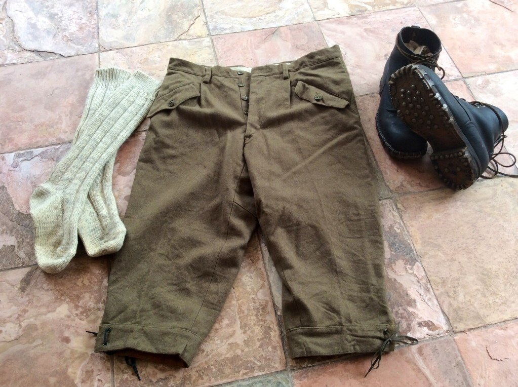 Italian wool military surplus knickers 7e106df7e246