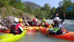 entraînement kayak