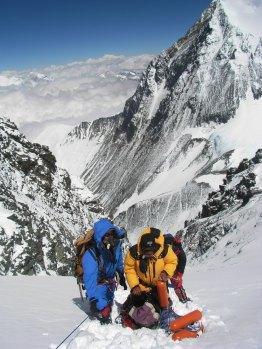 Just below the Summit of Lhotse