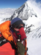 A good look at Everest from Lhotse