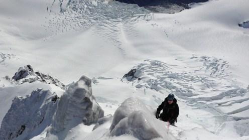 Iced Up Summit Rocks