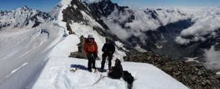Standing on the Summit of My alymer