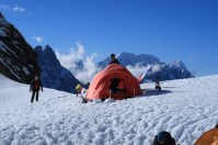 Camp 1 - a Broad flat place to relax
